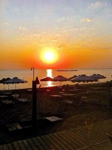 Greece - Sunrise over the Mediterranean